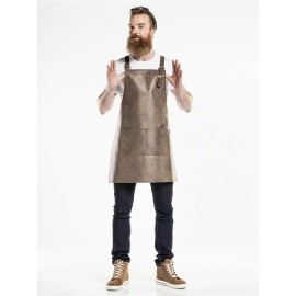Apron Fusion Barrel Brown W70-L80