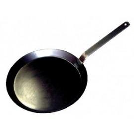 Pannekoekenpan in blauw staal Ø260mm