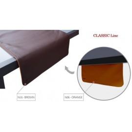 Pavelinni tafelloper Classic 45x120cm Bruin/Oranje