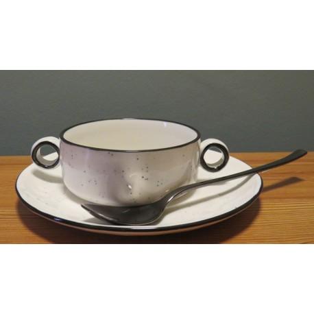 Black Pepper bowl met oren Ø120mm
