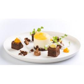 Bagastro rietsuiker bord rond Ø200xH15mm 40st