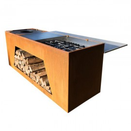 Tiger Fire Rolling Kitchen