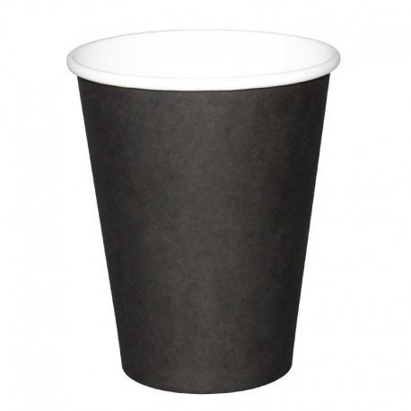 Fiesta Hot Cups enkelwandig zwart 23cl