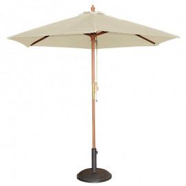 Bolero ronde crème parasol 2,5 meter