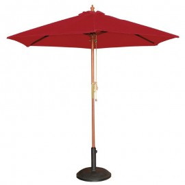 Bolero ronde rode parasol 2,5 meter