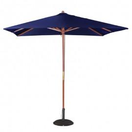 Bolero vierkante donkerblauwe parasol 2,5 meter
