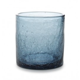 WHISKY GLASS 0.22L GREY CRACKLE (4STUKS)