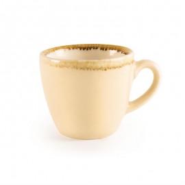 Espressokop 8.5cl Zandsteen 6st