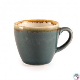 Espressokop 8.5cl Blauw (6 Stuks)