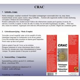 Ontstopper Crac