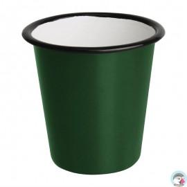 Beker Groen/Zwart 31cl 6 Stuks