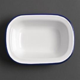 Bord Wit/Blauw 30cm 6 Stuks