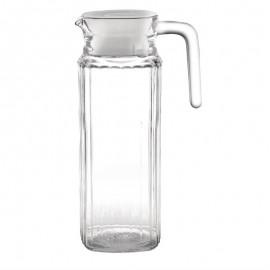 Olympia glazen kannen met deksel 1ltr