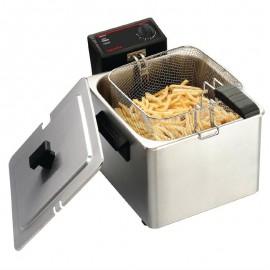 Caterlite enkele friteuse voor licht gebruik 8ltr