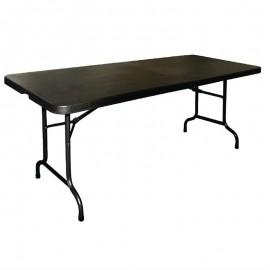 Inklapbare Tafel Zwart 183cm