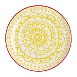 Fresca borden geel