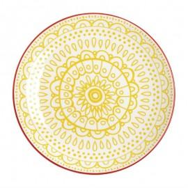 Fresca borden geel 26,8cm 6Stuks