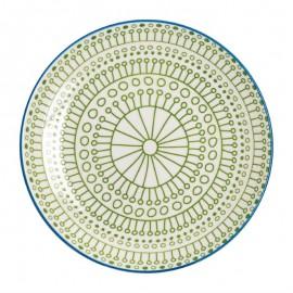Fresca borden groen 26,8cm 6Stuks