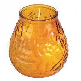 Bolsius Lowboy kaarsen amber 6st