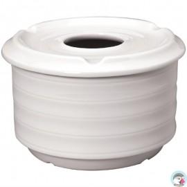 4 Stuks Intenzzo White windvrije asbakken 11cm