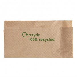 Composteerbare servetten van kraftpapier 32x30cm 6000st