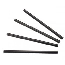 Rietjes zwart 7mm/14cm box 500 st*