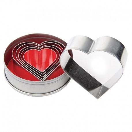 Vogue stekerdoos hartvorm glad