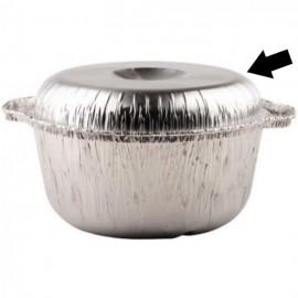aluminium deksel voor mosselpot 300st