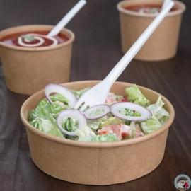 Fiesta Green ronde kraft saladeschaal 75CL 300st