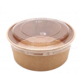 deksel pla voor salade bowl d185mm 50st