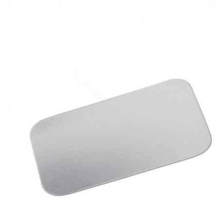 deksel alu/karton voor alu bakje 780ml 100st
