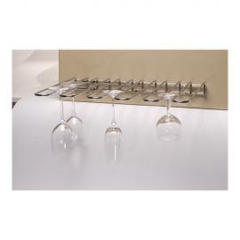 Glasophangrek Verchroomd Plafondmodel